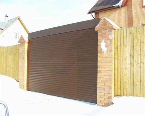 Рулонные въездные ворота